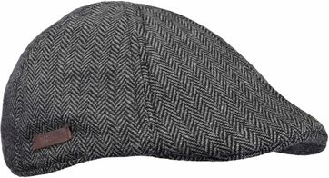 Barts Herringbone Mitchell Cap Grey