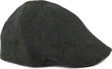 Barts Mitchell Cap Herringbone Dark Green