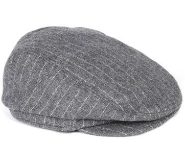 Barts Oslo Cap Streifen Grau
