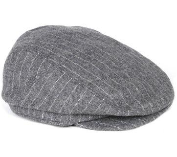 Barts Oslo Cap Stripes Grey