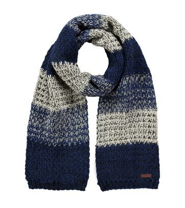 Barts Scarf Lester Navy White