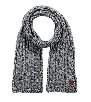 Barts Schal Twister Grau