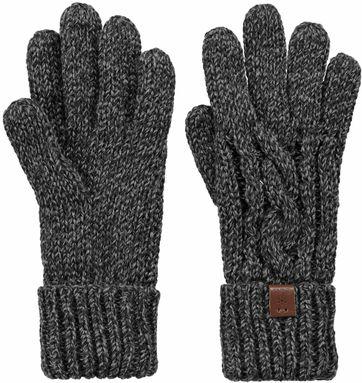 Barts Twister Handschuhe Dunkelgrau
