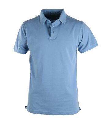 Basic Polo Blauw
