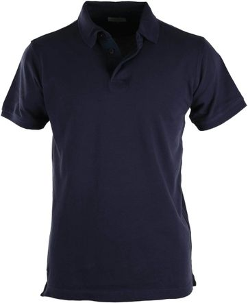 Basic Polo Donkerblauw