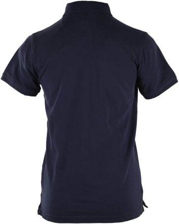 Detail Basic Polo Donkerblauw