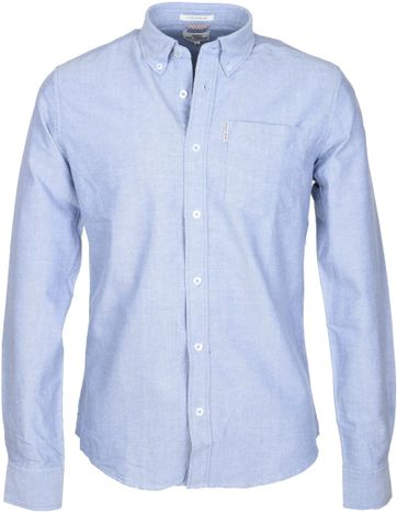 Ben Sherman Hemd Blau Oxford