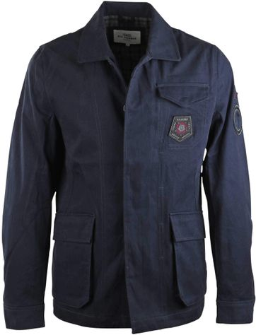Ben Sherman Militairy Jacket Navy