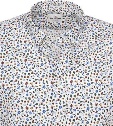 Ben Sherman Overhemd Bloem
