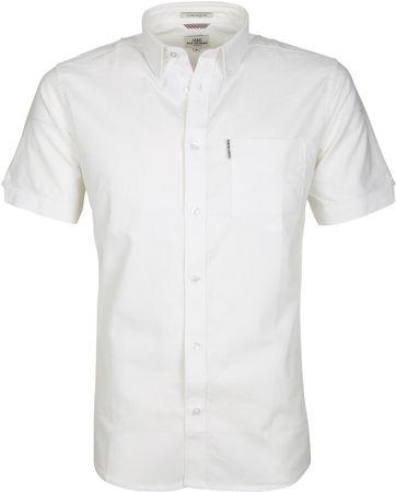 Ben Sherman Overhemd SS Wit
