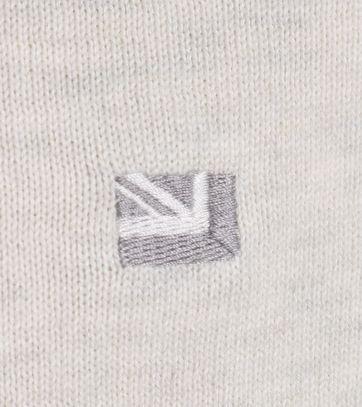 Detail Ben Sherman Pullover Off White