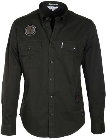 Ben Sherman Shirt Army Green