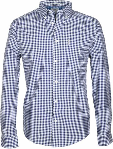 Ben Sherman Shirt Checks Navy
