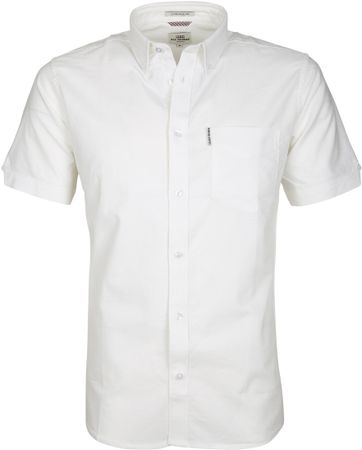 Ben Sherman Shirt SS White