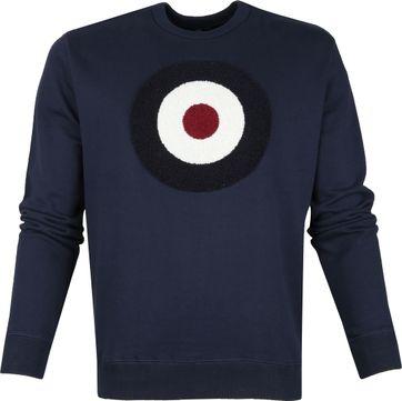Ben Sherman Sweater Cirkel Donkerblauw