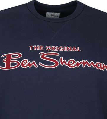 Ben Sherman Sweater Dunkelblau