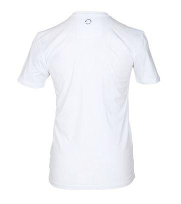 Detail Ben Sherman T-Shirt Print Wit