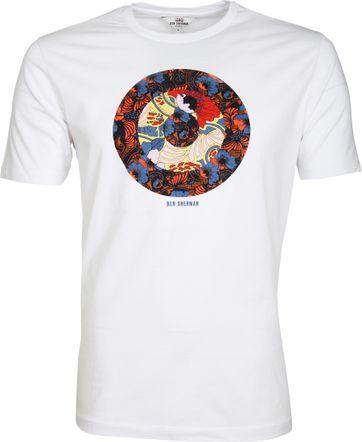 Ben Sherman T-Shirt Weiß