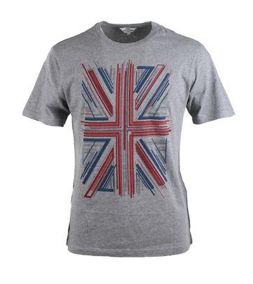Ben Sherman Tshirt Grey Print