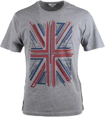 Ben Sherman Tshirt Grijs Print