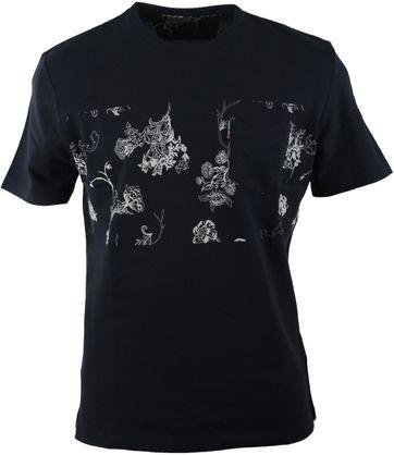 Ben Sherman Tshirt Navy Print