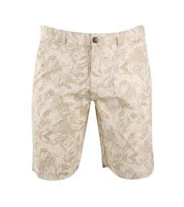 Bermuda Shorts Beige Grafik