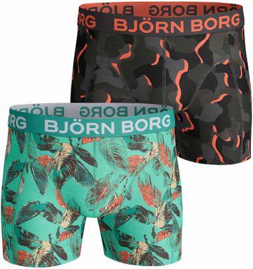 Bjorn Borg 2-Pack Boxers Camo Flowers