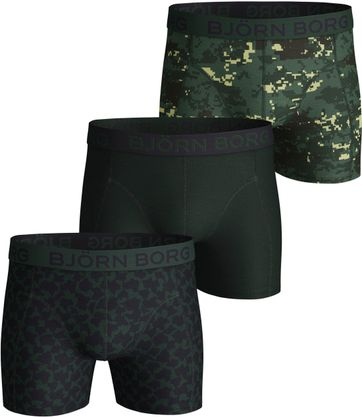 Bjorn Borg Boxer Shorts 3-Pack Digital Woodland