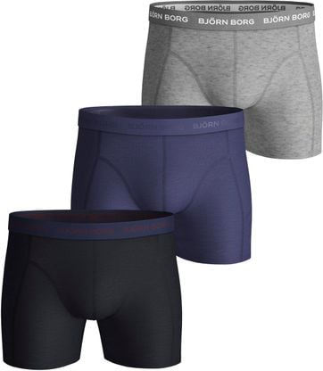 Bjorn Borg Boxer Shorts 3-Pack Night Sky