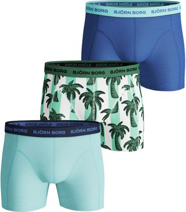 Bjorn Borg Boxer Shorts 3-Pack Palmstripe