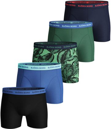 Bjorn Borg Boxer Shorts 5-Pack Leafy