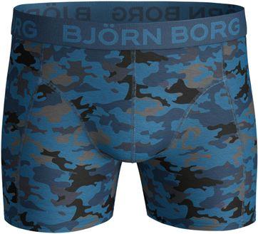 Detail Bjorn Borg Boxers 2-Pack Antraciet en Camo