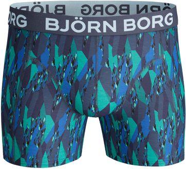 Detail Bjorn Borg Boxers 2-Pack Patroon