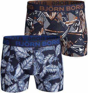 Bjorn Borg Boxers 2-Pack Peacoat
