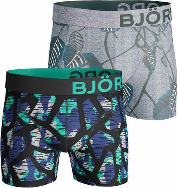 Bjorn Borg Boxers 2Pack Black + Grey
