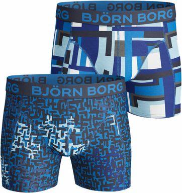 Bjorn Borg Boxers 2Pack Navy Blauw