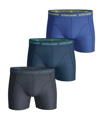 Bjorn Borg Boxers 3Pack Blauw