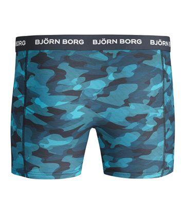 Detail Bjorn Borg Boxers 3Pack Navy Blauw