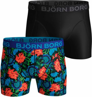 Bjorn Borg Boxershorts 2-Pack Dramatic Flower