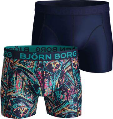 Bjorn Borg Boxershorts 2-Pack Microfiber Eiffel