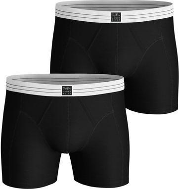 Bjorn Borg Boxershorts 2-Pack Original Solid Zwart