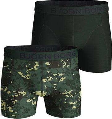 Bjorn Borg Boxershorts 2er-Pack Digital Woodland