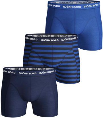 Bjorn Borg Boxershorts 3-Pack Blue