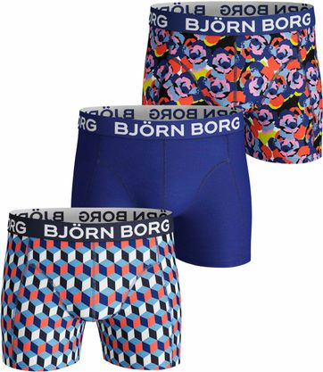 Bjorn Borg Boxershorts 3-Pack Camo Rose