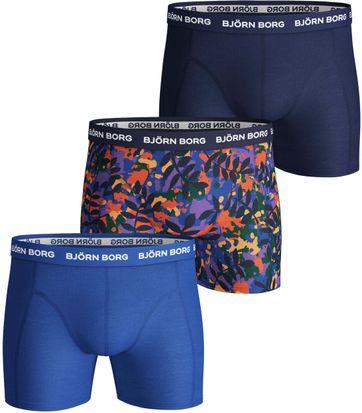Bjorn Borg Boxershorts 3-Pack Cobalt