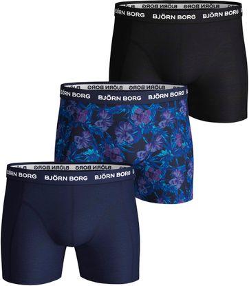 Bjorn Borg Boxershorts 3-Pack Flower