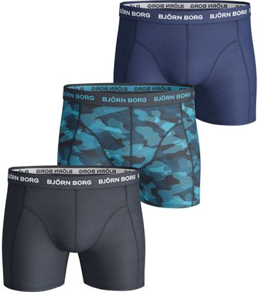 Bjorn Borg Boxershorts 3-Pack Navy