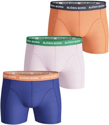 Bjorn Borg Boxershorts 3-Pack Solid
