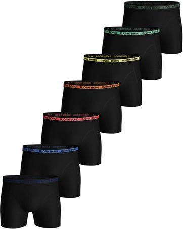 Bjorn Borg Boxershorts 7-Pack Solid Multi