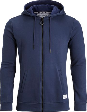 Bjorn Borg Hooded Vest Peacoat Navy